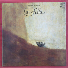 GREGORIO PANAGUA   LP ORIG FR  LA FOLIA