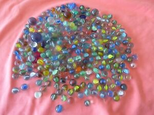 150 + GLASS MARBLES