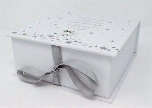 Baby Boy or Girl Keepsake Memory Box Twinkle Twinkle Newborn Christening Gift