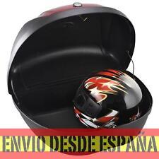 Universal baúl de moto scooter maleta XXL 48 L motocicleta para 2 cascos