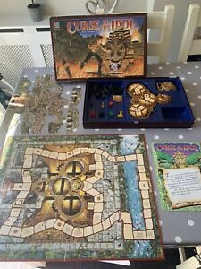 CURSE OF THE IDOL - RARE BOARD GAME BY MB GAMES