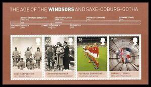 2012 GB Age of the Windsors & Saxe-Coburg-Gotha MS3270 Miniature Sheet UM MNH