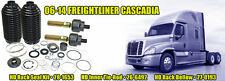 Complete Power Steering Rack and Pinion Rebuild Kit for Freightliner Cascadia