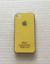 Iphone 4 yellow phone case