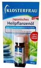 2x Klosterfrau Japan Heilpflanzenöl Japanese Peppermint Oil 0.33 oz / 10 ml