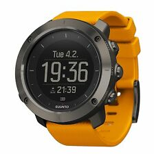 Suunto Traverse Amber GPS Navigation Outdoor Hiking Watch SS021844000