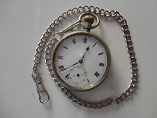 Antique Omega open face pocket watch, C.1911, working