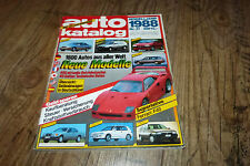 Auto Katalog 1988