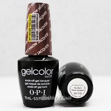 OPI GelColor GC F15 YOU DON'T KNOW JACQUES! 15mL UV LED Gel Polish Taupe Color