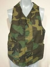 Camo Ranger Vest Tactical Military Gear With Ammo Pockets Size M Made In USA V42