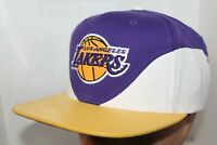Los Angeles Lakers Mitchell & Ness NBA Pebble Bell Curve Snapback,Hat,Cap