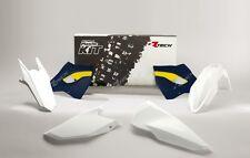 Kit Plastiche Husqvarna TE-FE 125-250-300-350-450-501 2015-2016 Bianco Blu Rtech