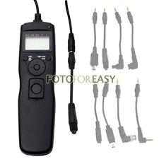 Intervalómetro Temporizador disparador remoto para Olympus E3 E1 E300 E10 E20 Cámara SLR