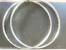 2 neue niro edelstahlfelgen 28x1,75 , 36 loch mit westwood profil , 5,5 mm loch