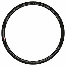 CAMPAGNOLO BORA ULTRA 35 3D DARK LABEL REPLACEMENT RIM DECAL SET FOR 2 RIMS