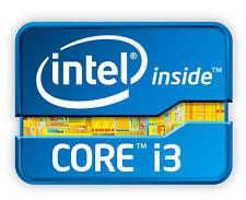 Intel Inside TM core i3 adesivo etichetta sticker 2cm x 2cm