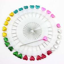 Craft Pin Wheel 30 Pins Heart Shaped Pins Sewing Pins Needles For Sewing Machine