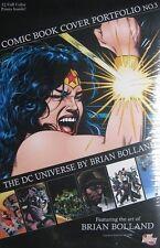 RARE ~  BRIAN BOLLAND *SEALED* Comic Book Cover Portfolio #3 Limited Edition NEW