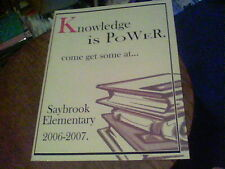 Knowledge is Power Saybrook Elementary 2006-2007 K-6 grade wb15