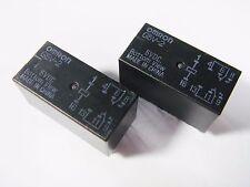 20 x Relais 5V 2xUM 125V 2A OMRON G5V-2-5VDC Gold #12R37#