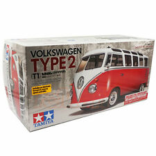 Tamiya 1/10 M06 Volkswagen Type 2 T1 Red White Pre-Painted Body Car Kit #47420