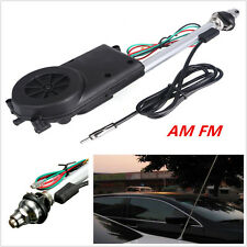 DC12V AM FM Radio Car Power Electric Antenna Mast kit Replacement Aerial Adapter