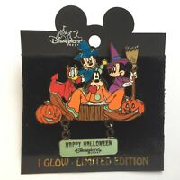 DLR - Happy Halloween 2001 Dunkin Goofy Dangle LE 3600 Disney Pin 7486