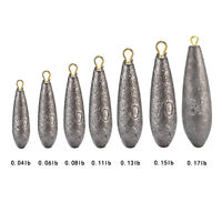 5 x 20~80g LEAD WEIGHTS SINKERS visit russthefish for Sea/Carp fishing tackle