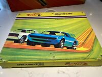 Hot Wheels Vintage 1968 Redline 24 Car Collector's Case Hotwheels Nice