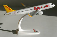 Pegasus Airlines Airbus A320neo 1:200 Herpa Snap-Fit 612029 A320 neo flypgs