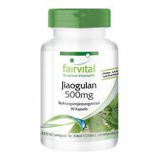 Jiaogulan 500mg 4:1 Extrakt aus 2000 mg Jiaogulan 90 Kapseln - VEGAN - fairvital