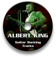 ALBERT KING STYLE BLUES ROCK GUITAR AUDIO BACKING TRACKS CD COLLECTION