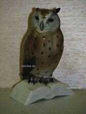 +# A010195_08 Goebel Archiv Wilhelmsfeld Eule auf Buch Owl CV135 Plombe Krone