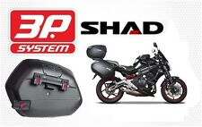 Support side suitcases SHAD 3P SYSTEM KAWASAKI ER6 N/F 12 to 14 new fittings