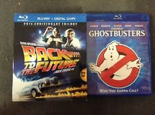Ghost Busters and Back to the Future Blu-Ray Lot