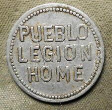 New ListingPueblo (Co) Legion Club / Good For 10c In Trade. Aluminum, 26mm