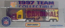 MJ7 Matchbox/WR - 1997 Team Collectible -  Kenworth T600 - Red & Yel - Cardinals