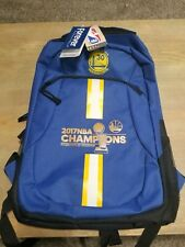 Golden State Warriors 2017 NBA Champions Backpack NEW Collectible