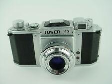 Tower 23 Asahiflex IIB w/ 50mm F/3.5 Takumar Asahi Kogaku * M37 * Pentax - Rare