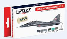 Hataka AS17 Modern Polish Air Force Camouflage Paint Set Vol.1 (6 Colors)