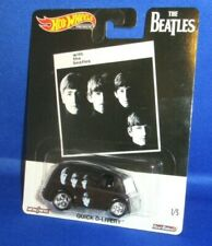 THE BEATLES PREMIUM COLLECTOR HOT WHEELS WITH THE BEATLES QUICK D-LIVERY, NEW