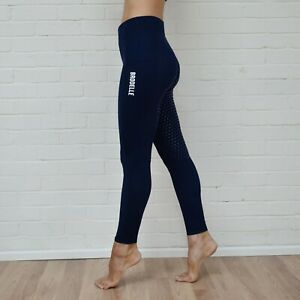 Brodelle Equestrian Sport Riding Tights/Leggings - Navy