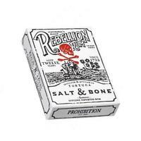 Salt & Bone Playing Cards Rebellion Pirate Rum since 1722 Ellusionist