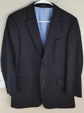 Tommy Hilfiger Mens Pinstripe Suit Coat XS 39 Jacket
