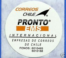 CHILE, OFFICIAL CORREOSCHILE UNUSED POSTAL STICKER # 17