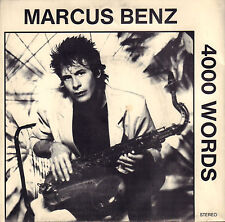 """MARCUS BENZ - 4000 Words (1986 US VINYL EP 7"""")"""