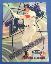 Mark McGwire - 1998 Fleer Tradition - Zone - 11 of 15z - St. Louis Cardinals