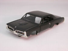 MODEL MOTORING BLACK '67 GTO SHELL ~ NEW ~ FITS AURORA TJET