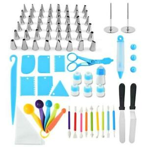 78 Pieces Stainless Steel Decorating Tools Sets Cakes Decorations Baking Tools