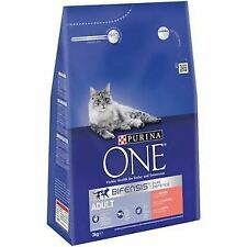 Purina One Adult Cat Salmon & Whole Grain 3kg - 11169